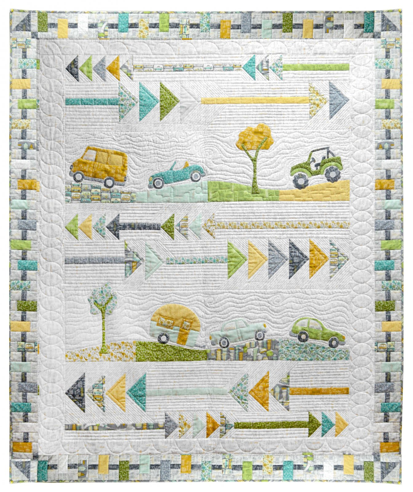 Road Trippin-Going Places Quilt