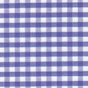 Royal Gingham Fabric – 1/8