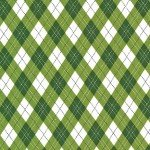 Rustique Winter-Gift Wrap-Green