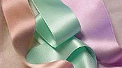 Silk Satin Ribbon 1/4 DOUBLE FACED-Mint Green