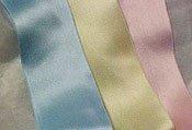Silk Satin Ribbon 1/4 DOUBLE FACED-Light Blue