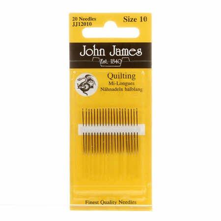 John James Between / Quilting Needles Size 10 20ct