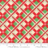 Swell Christmas-Coated-Plaid-Red Green- Oil Cloth
