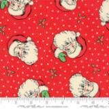 Swell Christmas-Coated-Santa-Red-Oil Cloth