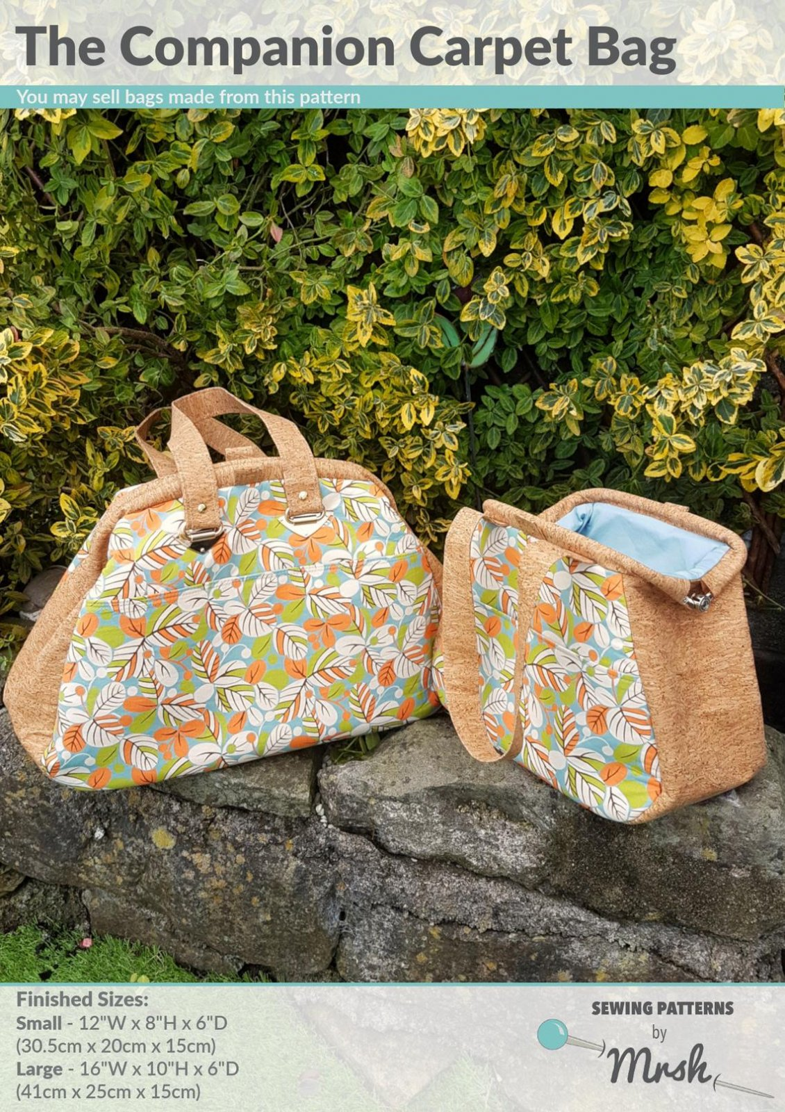 The Companion Carpet Bag Sewing Pattern