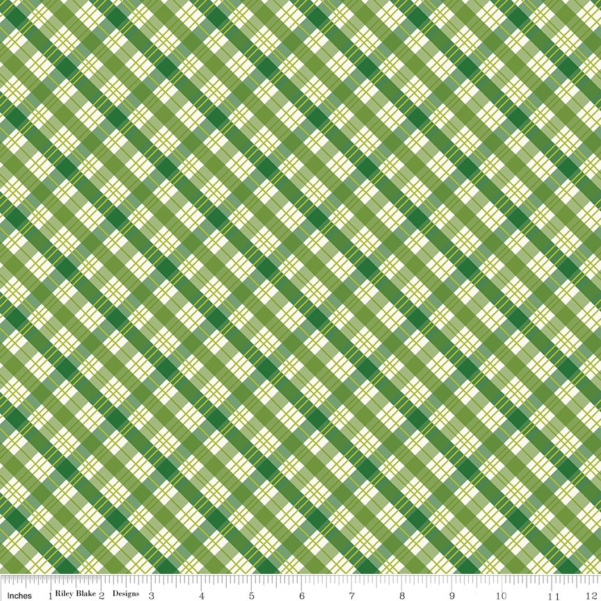 The Great Outdoors-Plaid Green