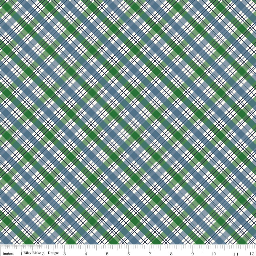 The Great Outdoors-Plaid Blue