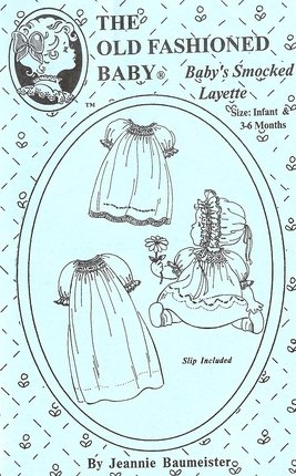 Baby's Smocked Layette-The Old Fashioned Baby