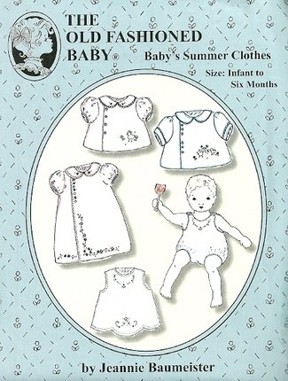 Baby Summer Clothes Infant-6m The Old fashioned baby-Jeannie Baumeister
