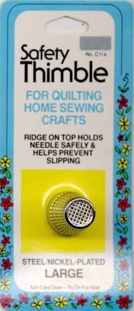 Safety Thimble Large for quilting