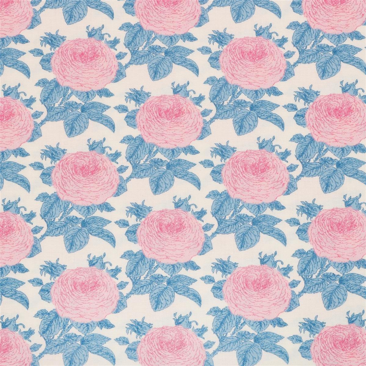 Tilda-Sunkiss-Grandma's Rose-Blue