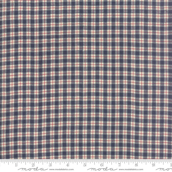 Vive La France-French General-Plaid Small-Rouge/Indigo