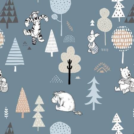 Wonder & Whimsy-Disney Pooh Forest Friends-Dark Blue
