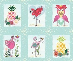 Flamingo Fever -panel