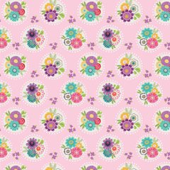 Sunshine Girls -Bouquet Polka pink