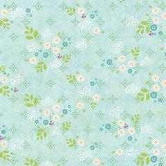 Sunshine Girls -scattered petals blue