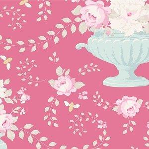Tilda Happy Campers -Flowerbees Rose