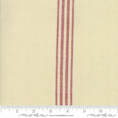 Toweling by the Yard -oyster stripe