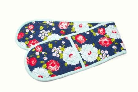 The Good Life Oven Mitt - navy