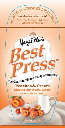 Best Press -6 oz  Peaches & Cream
