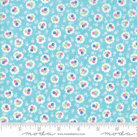 Badda Bing Turquoise Print