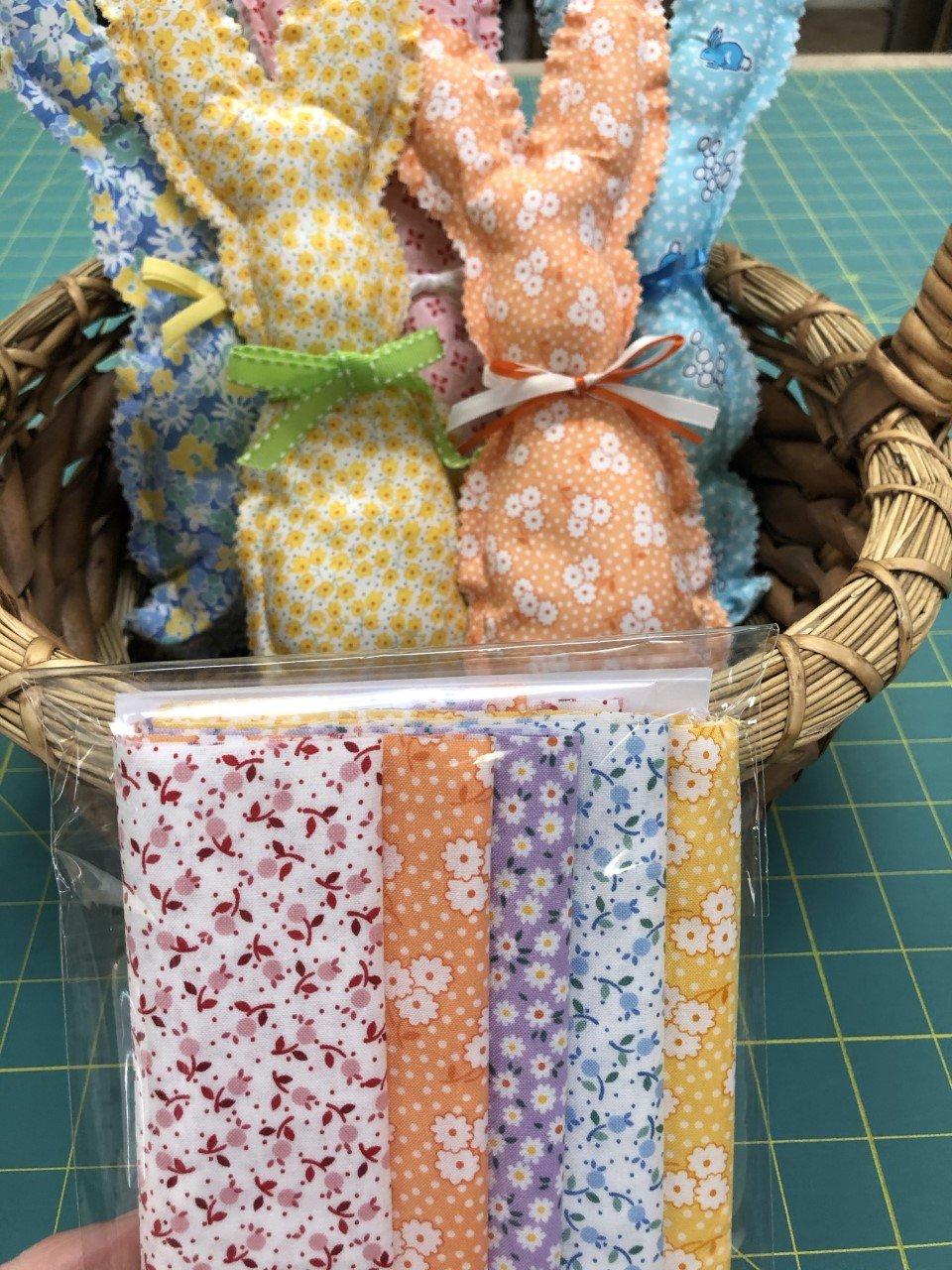 Basket Bunnies - 30's kit