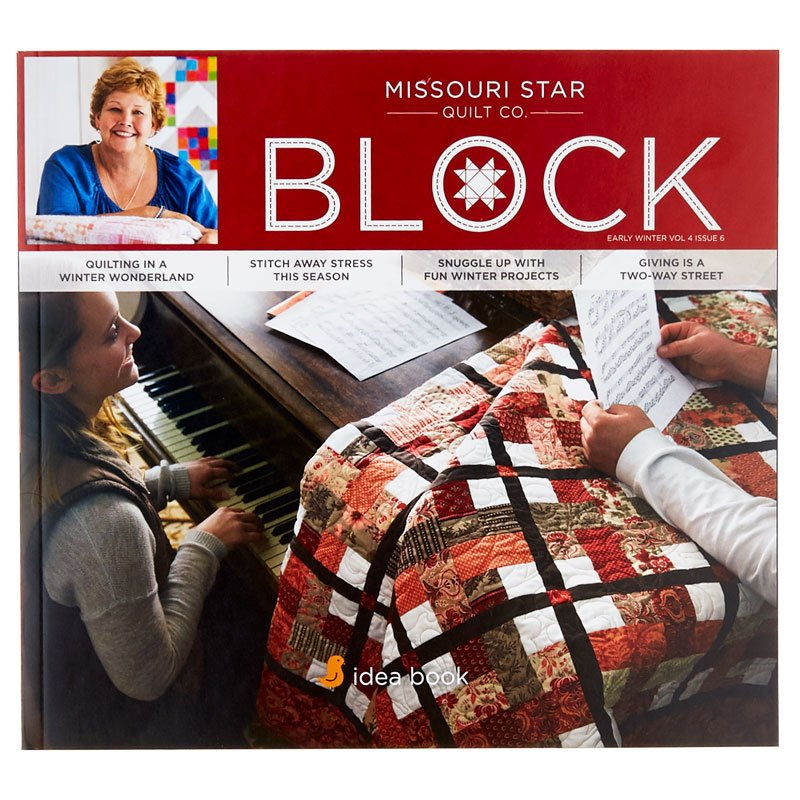 Missouri Star Block - Vol 4 Issue 6 Early Winter