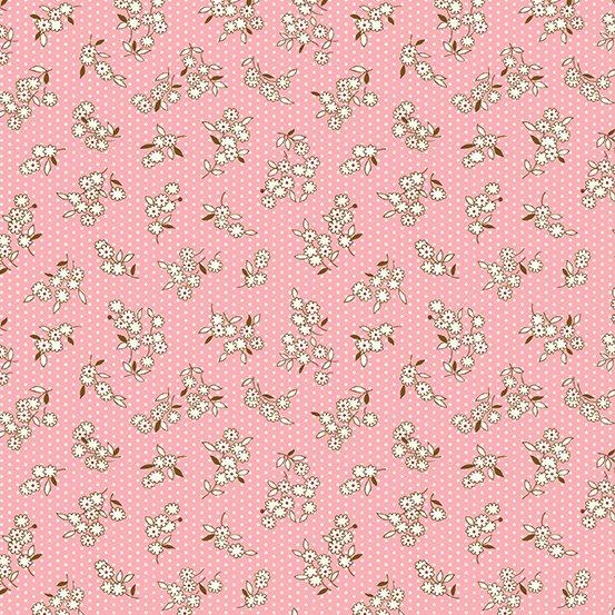 Lottie Ruth  - Pink dot w/flower