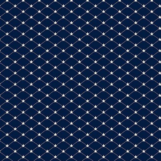 Allegiance Tufted Star -blue