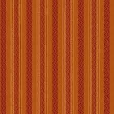 Autumn Song Orange stripe Woven