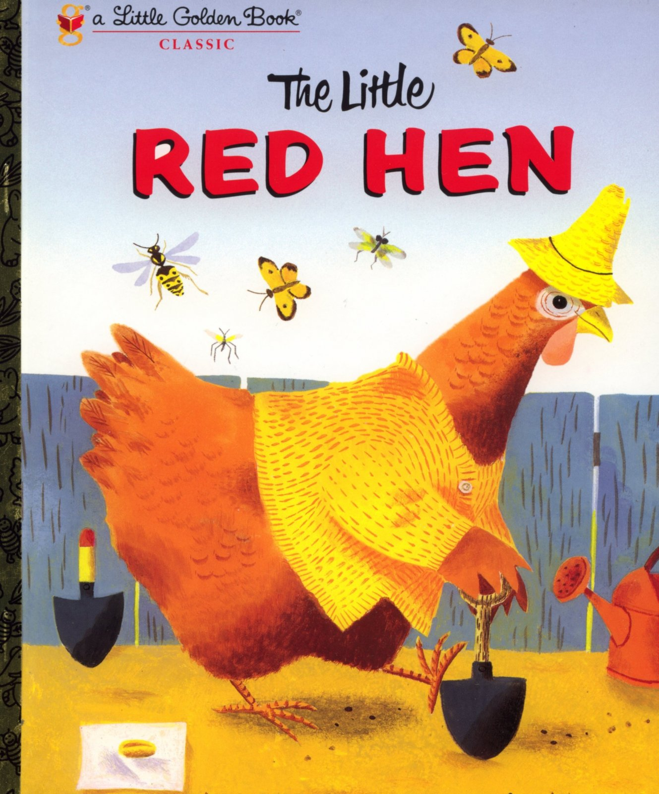 The Little Red Hen Golden Book