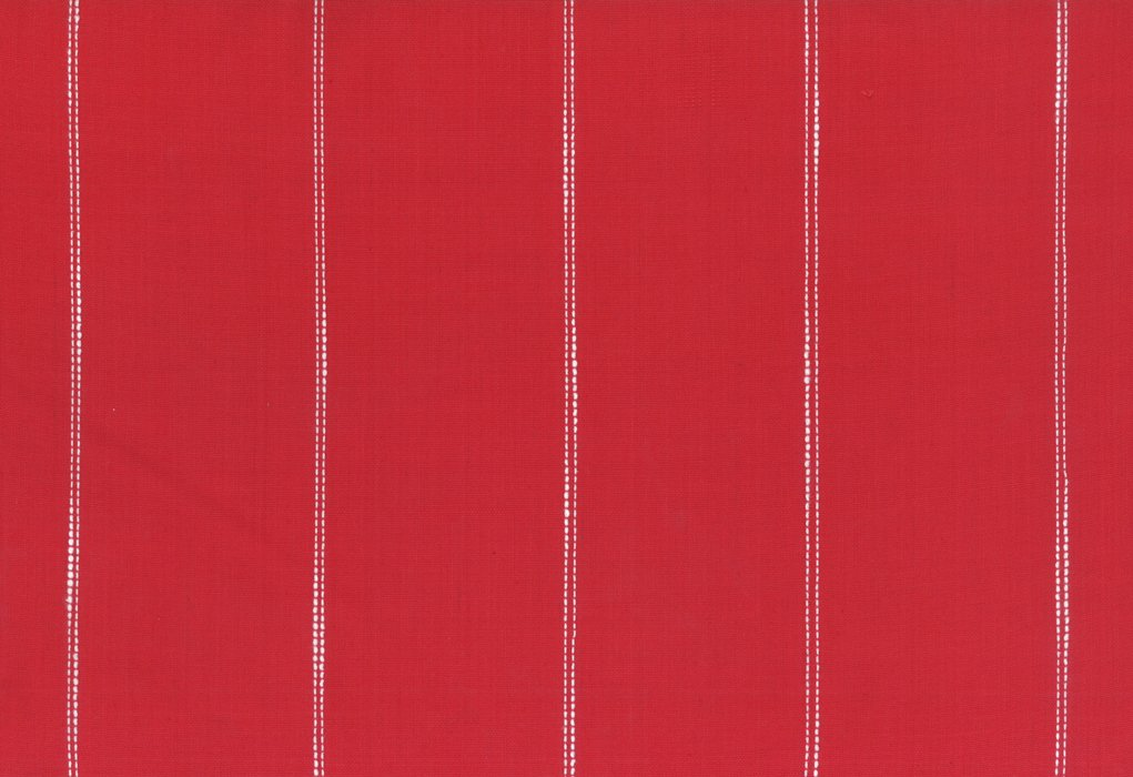 Toweling Picnic Point Red w/ white stripe