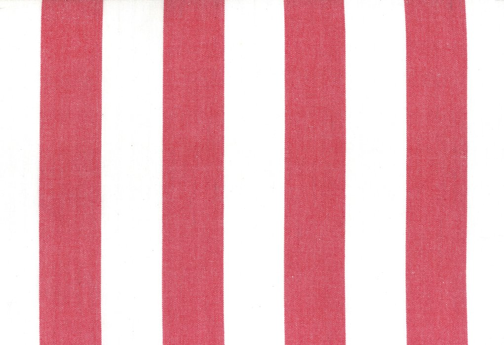 Toweling Picnic Point - Red & White Wide