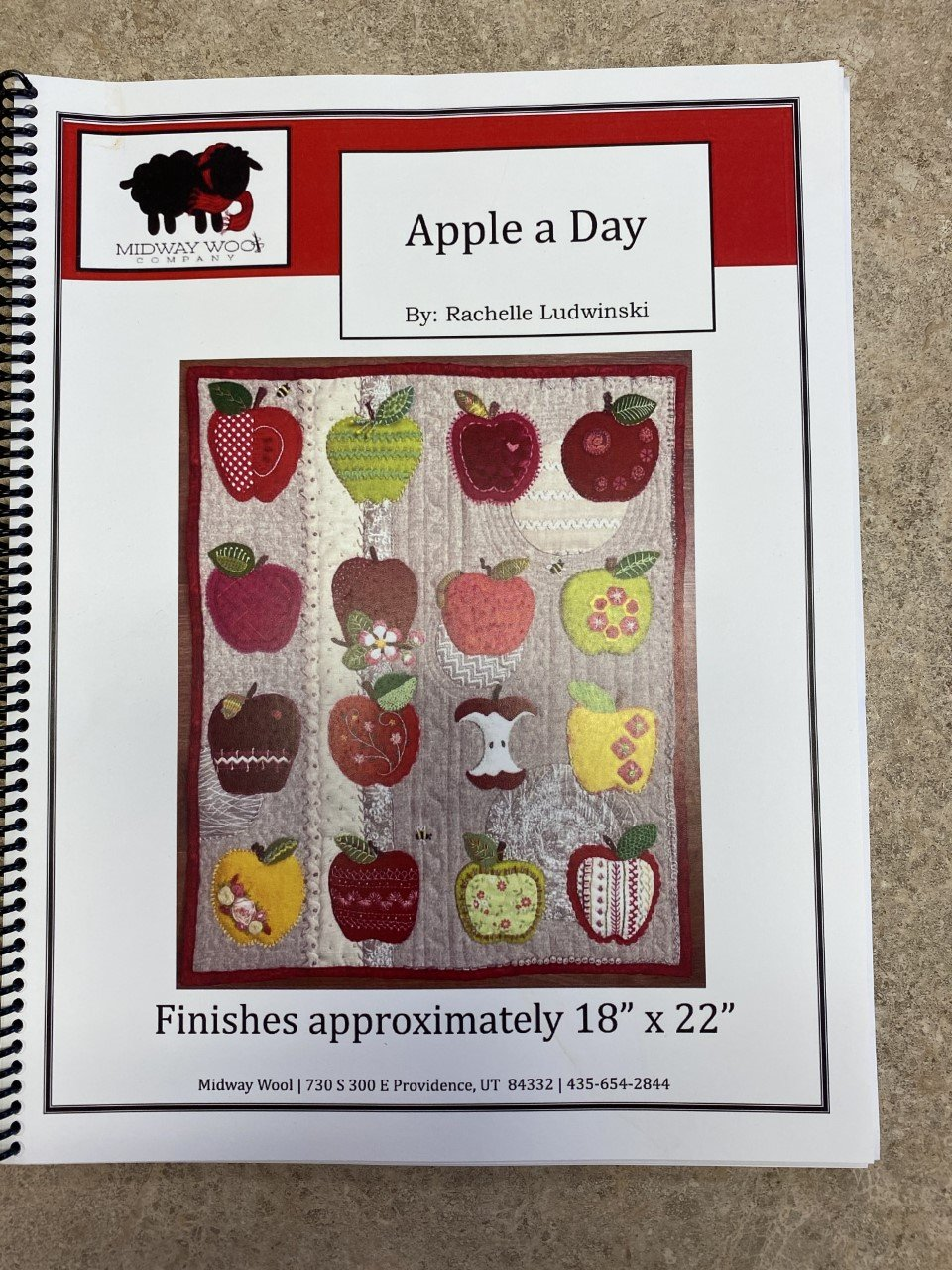 Apple A Day Wool Book