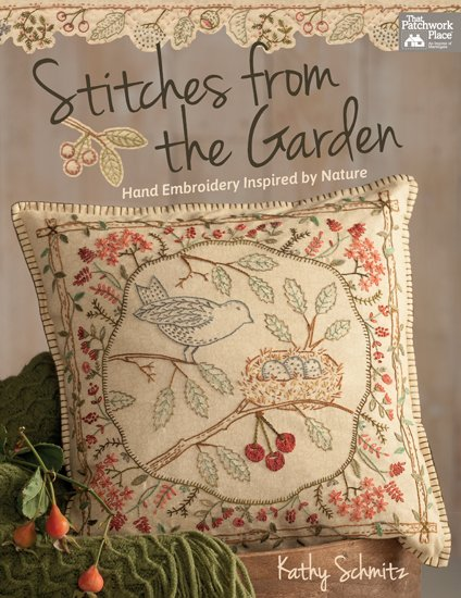 New Day Pillow Kit -Stitches from the Garden