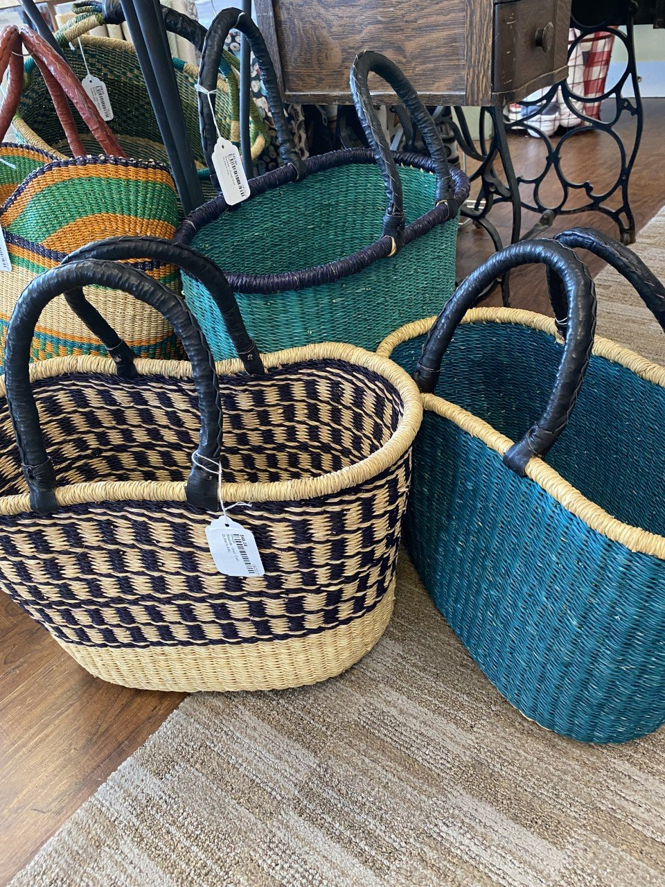 Baskets - Small U Oval w/ long handles