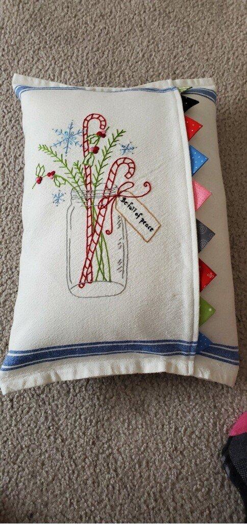 Be Full of Peace Pillow -kit