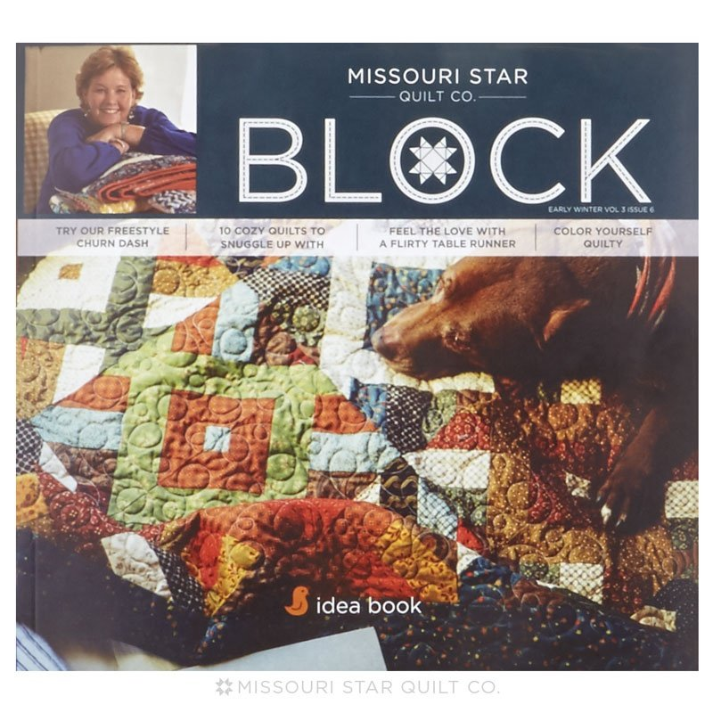 Missouri Star Block - Vol 3 Issue 6 Winter