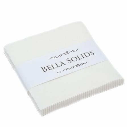 Bella Solids Charm Pack - Off White