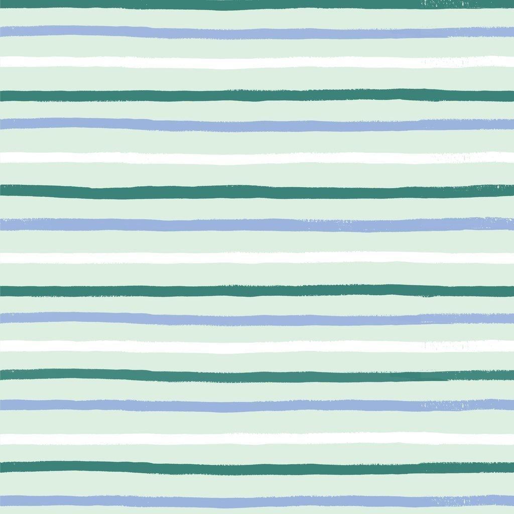 C&S English Garden - Stripes mint