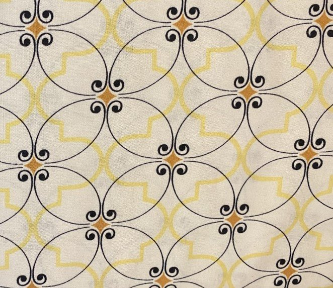Felicity: Cafe Diamonds - Yellow & Black
