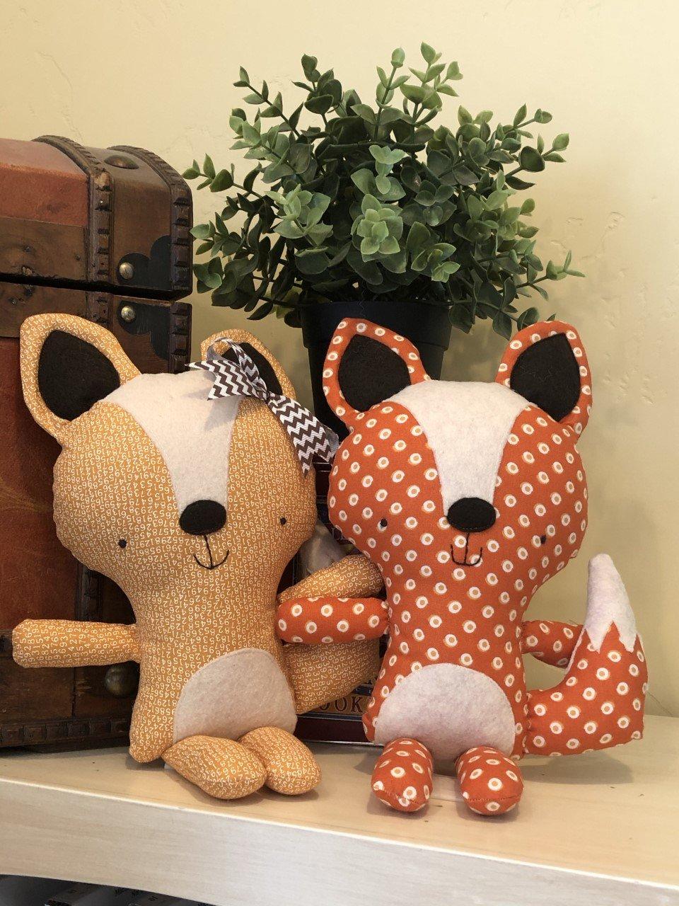 Florrie & Finn Foxes - Kit