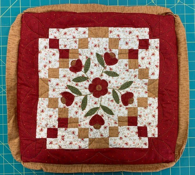 Flowers Pillow 16 (pillow form not incl.)