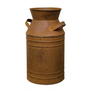 Rusty Milk Can 11