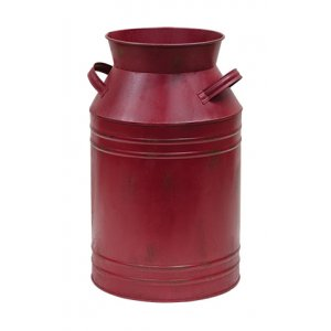 Burgundy Milk Can 11