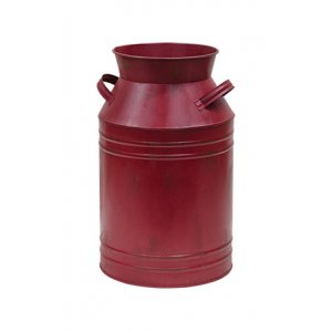 Burgundy Milk Can 7