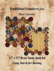 Hexie Candy Quilt 9 x 8.25