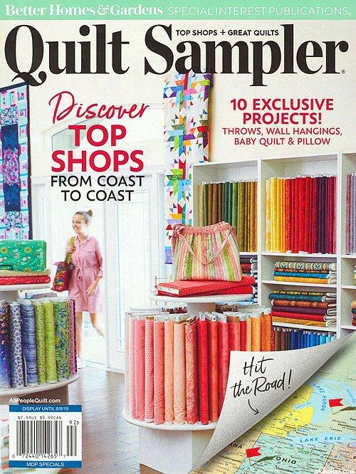 Quilt Sampler Magazine -Spring 2019