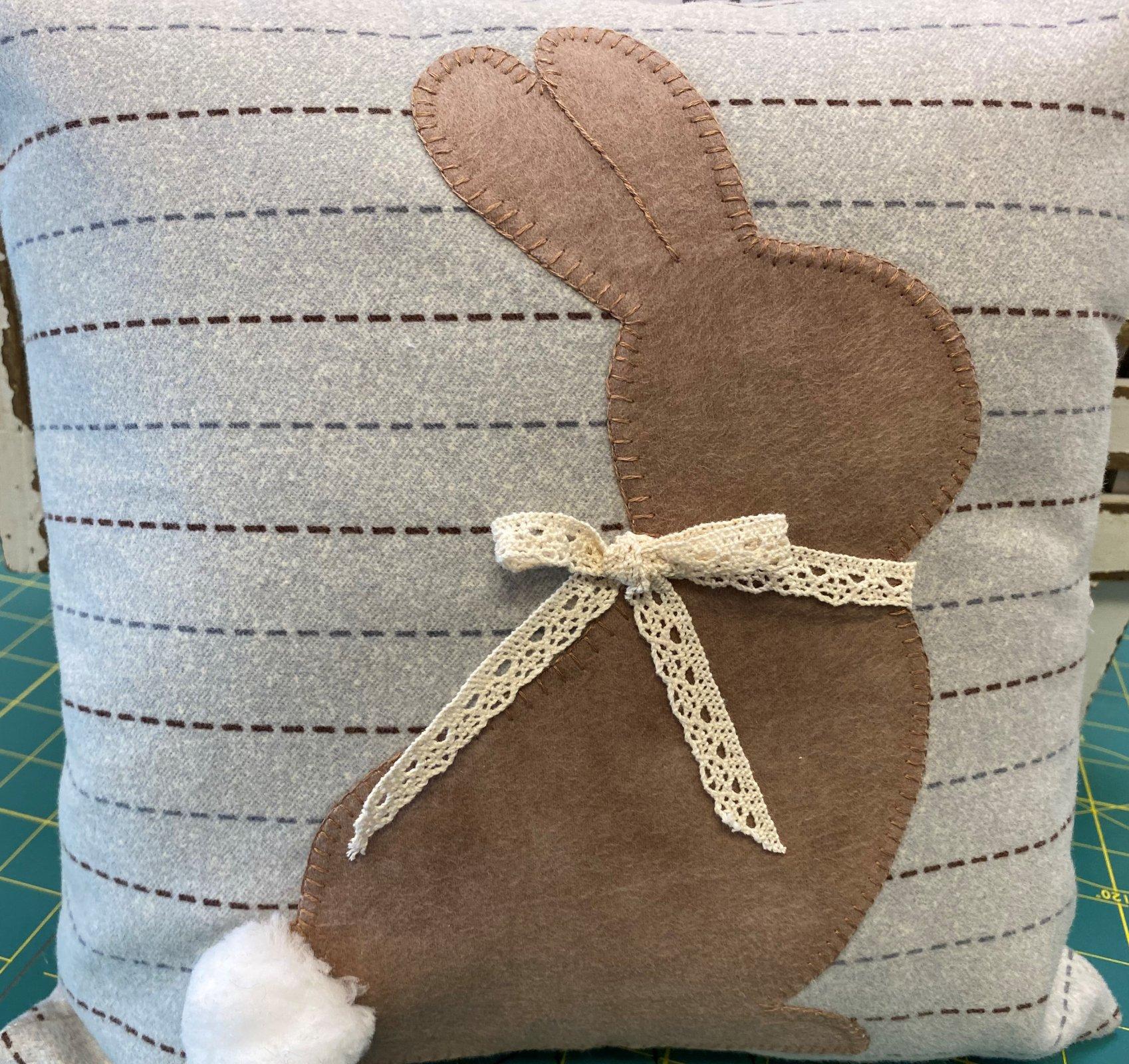 Milk Chocolate Mike -Bunny Pillow kit
