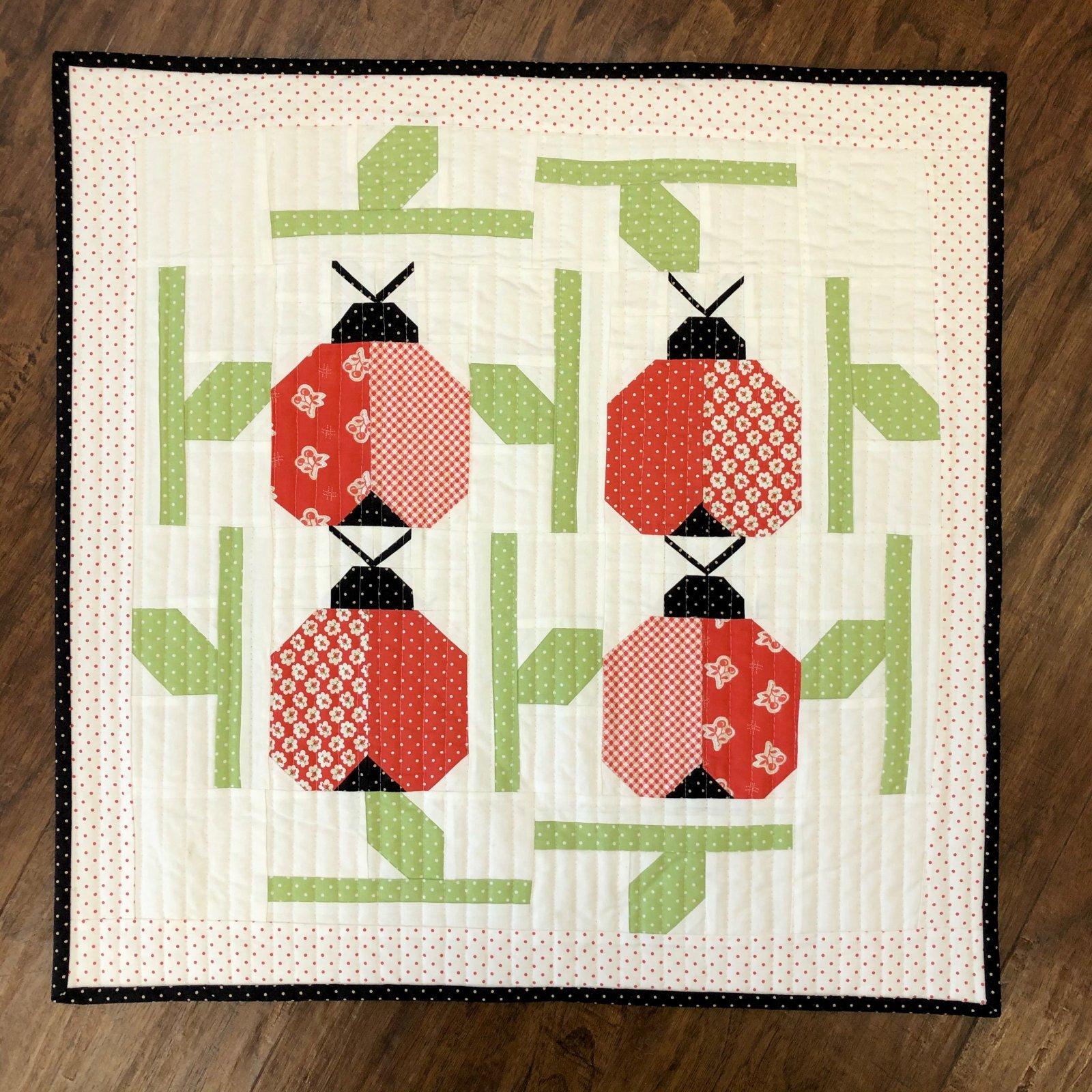 Ladybug Mini Quilt Kit